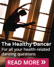 healthy dancer